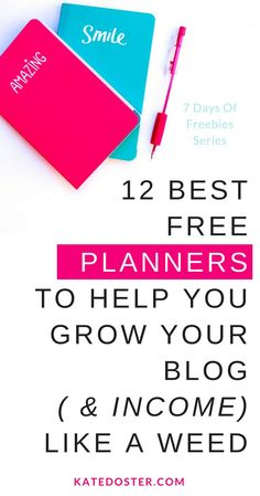 The best free blog planners for new bloggers. Get free planners for growing your email list, blog post ideas, social media accounts and more. Save now or click to get start your blog now.