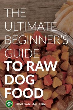 Well hello there everyone! If you've seen our previous blog, then you already know that we're cooking up a blog regarding Raw Food vs. Dry Food for your dog and ...