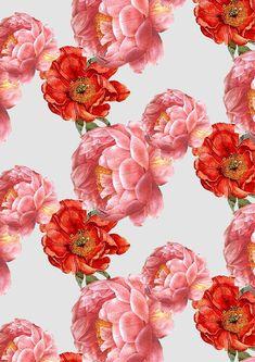 vintage floral pattern | cardboardcities - illustration, colour, fashion + lifestyle blog UK