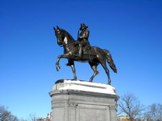 Boston Washington statue #boston