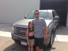 Congrats to Rob C. and family for purchasing a new 2013 GMC Crew Cab SLT 4x4. Enjoy your new truck!