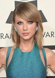 Cabelo curto com franja - Taylor Swift