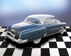 1951 CHEVROLET DELUXE BEL AIR 2 DOOR HARDTOP - Barrett-Jackson ...