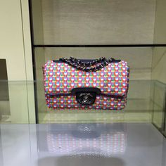 Chanel Rubber Flap Bag With A Removable Raincoat Cruise 2016
