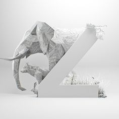 #Z is for Zoo | @36daysoftype | #36days_z #36daysoftype03 #36daysoftype #3dhomework #type #letter #typography #typeface #design #3d #abstract #art #graphic #motiondesign #animation #cinema4d #c4d #cgi #gfx by marcelpiekarski