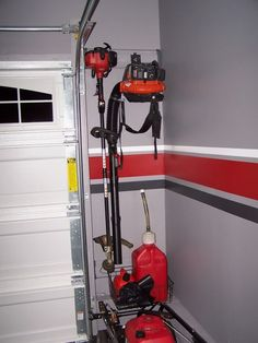 Organizing a isnt a one-size-fits-all project, suitably weve compiled some of our best garage storage ideas. Check out these tips to locate ideas your garage more organized and augmented to use. Garage Workshop Organization, Garage Tool Storage, Garage Storage Solutions, Garage Shed, Garage Shelving, Garage House, Storage Ideas, Storage Racks, Car Garage