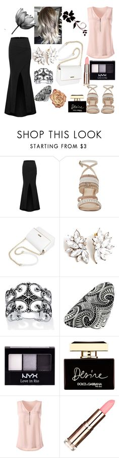 """Untitled #11"" by almira-mustafic ❤ liked on Polyvore featuring Nine West, Palm Beach Jewelry, Thomas Sabo, NYX and Dolce&Gabbana"