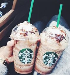 Everybody needs a day to splurge with a mocha frappuccuino!