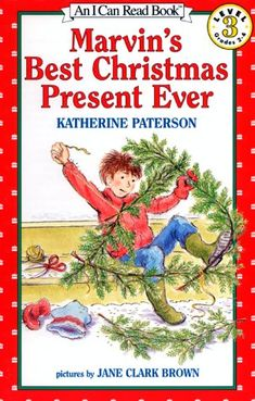 Marvin's Best Christmas Present Ever by Katherine Paterson reviewed by Katie Fitzgerald @ storytimesecrets.blogspot.com