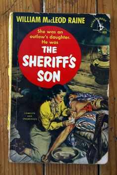 The Sheriff's Son by William MacLeod Raine 1951 Pocket Books Paperback Western | eBay