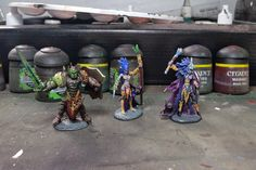 Vamos Ver no Pano Verde: Some Reaper Figs Finished