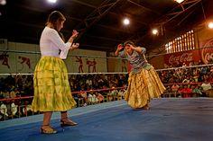 Cholitas     El Alto    Bolivia
