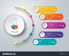 Timeline Infographics Design Vector And Marketing Icons Can Be Used For Workflow Layout Diagram