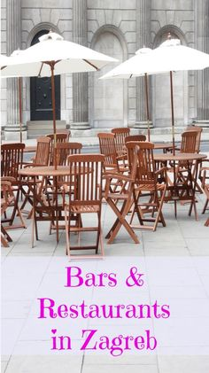 Bars and Restaurants in #Zagreb #Croatia  http://www.chasingthedonkey.com/bars-and-restaurants-zagreb/