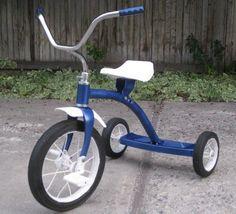 Restoring a vintage tricycle