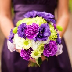 cool vancouver wedding Love the contrast of vibrant lime green against a deep purple. #flowers #florist by @bloomersfloralvancouver  #vancouverflorist #vancouverwedding #vancouverwedding