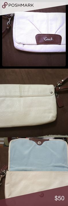 Leather Coach Wristlet Leather Coach Wristlet Coach Bags Clutches & Wristlets