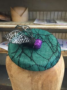 A personal favorite from my Etsy shop https://www.etsy.com/listing/476474195/shoo-fly-cocktail-hat