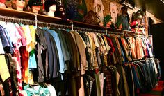 The Top 10 Vintage Shops In Dublin- Nine Crows and Tahiti Vintage look amazing