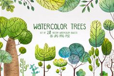 Add A Green Element To Your Work With These Hand-Drawn Illustrations Twenty cartoon trees, shrubs, and cactuses that would be right at home in the world of Dr. Seuss. These stylized flora are icons of a healthy earth. The Lorax would be proud. Put them on your sustainable product packaging. A nice bonus, the two ... read more
