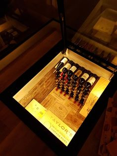 Hinged glass floor and steel framework with gas-struts made to measure and available to buy online Under Stairs Wine Cellar, Horseshoe Wine Rack, Garage Game Rooms, Walking On Glass, Basement Doors, Wine Cellar Design, Glass Wine Cellar, Home Wine Cellars, Trap Door