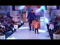 OMG ! Ajaz Khan and his son having fun on the ramp at India Kids Fashion Week 2015.