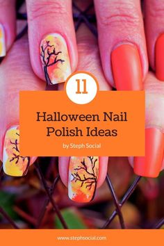 Get in the spooky spirit with these cute Halloween nail ideas! Cute Halloween nail designs! Easy Halloween nails diy! Easy Halloween nail designs. Diy Halloween nails easy. Cute Halloween Nails, Halloween Nail Designs, Easy Halloween, Diy Nail Designs, Short Nail Designs, Cute Short Nails, Cute Nails, Nail Art Diy, Diy Nails