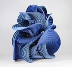 Erik Demaine and Martin Demaine: paper sculpture