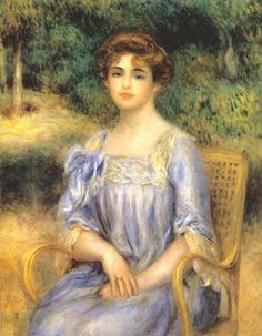 Pierre-Auguste Renoir Portrait of Madame Bernheim