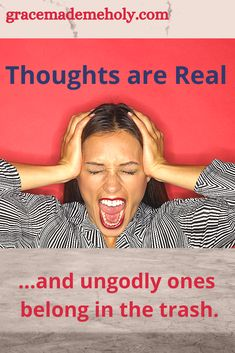 We don't need to succumb to negative and harassing thoughts. As long as we've got the Word of God then we've got a fight in us! Christian Post, Christian Living, Christian Faith, Negative Thinking, Negative Thoughts, Spiritual Warfare, Spiritual Growth, Overcoming Anxiety, Deal With Anxiety