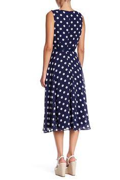 Image of Eliza J Sleeveless Belted Midi Dress Latest Fashion For Women, Latest Fashion Trends, Womens Fashion, Fashion Online, Maxi Dress With Sleeves, Nordstrom Dresses, Retro, Dresses For Work, Feminine