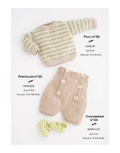 Modèle Pantalon CB16-33 Cheval Blanc - Patron tricot gratuit