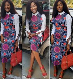 The Latest Sweet and Beautiful Ankara Styles You Need To See - Ankara collections brings the latest high street fashion online African Wear Dresses, Latest African Fashion Dresses, African Print Fashion, African Attire, African Prints, Beautiful Ankara Styles, Trendy Ankara Styles, Shweshwe Dresses, Style Africain