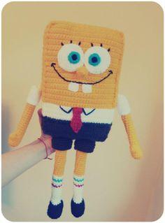 spongebob! :D #amigurumi #crochet