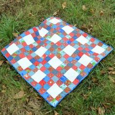 Sammy's Simple Squares and Strips Quilt