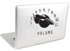 Amazon.com: Volume Knob Vinyl MacBook Decal: Computers & Accessories