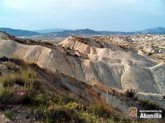 Badlands Abanilla Murcia Spain.