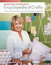 @Overstock - Martha Stewart, the goddess of all things craft, has delved into her archives to compile an encyclopedia of her very best projects for anyone who loves to make things. Over 30 techniques are explored along with their history, and scads of excellent pro...http://www.overstock.com/Books-Movies-Music-Games/Martha-Stewarts-Encyclopedia-of-Crafts-Hardcover/3291491/product.html?CID=214117 $22.87