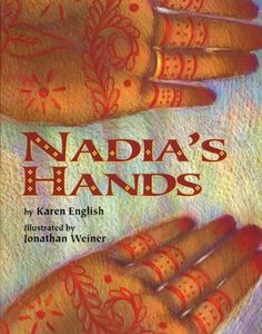 A flower girls in her aunt's wedding, Nadia is unsure of how she feels about the henna painting on her hands. An interesting peek at culture, but some problematic elements in the perspective of some of the child relationships.