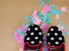the coziest polka dotted slippers for winter