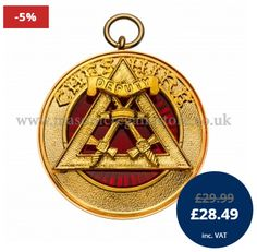 Buy Royal Arch Provincial Past Rank Collarette Jewel online from Masonic Regalia Store Ltd.