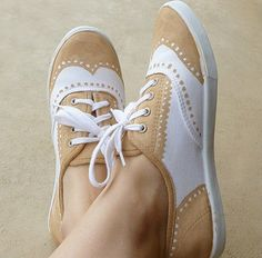 zapatillas Oxford DIY