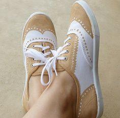 zapatillas Oxford DIY
