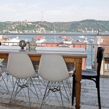 Picture from terrace of Mangerie Bebek in Istanbul, Turkey.