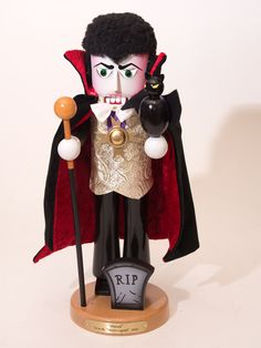 The first in Steinbach's Horror Legends Series behold Dracula!
