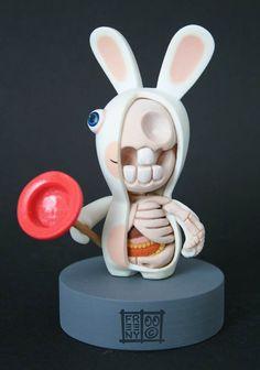 Pop Icon Anatomy – 37 sculptures disséquées par Freeny