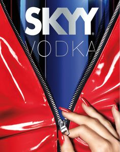 "SKYY Vodka ""Unzipped"""