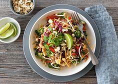 PAD THAI Frisk, Nom Nom, Vegetarian Recipes, Dinner, Ethnic Recipes, Dining, Food Dinners, Vegetable Dip Recipes, Dinners