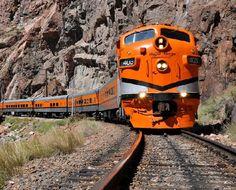 """Royal Gorge Railroad Near Canon City, Colorado"" by Jake Mabry"