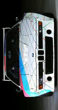 """(°!°) 1979-81 BMW M1 Procar """"Art Car"""" by Frank Stella"""